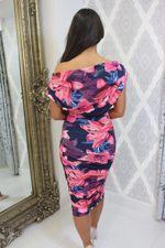 Oxyegn Dress Pink Floral