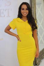 Yellow Collared Midi Dress-Copy