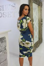 Oxyegn Dress Ivory Floral