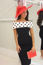 Megan Dress Polka Dot