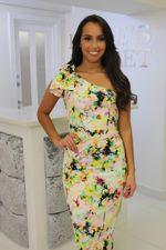 Lizzie Dress Mulitcoloured