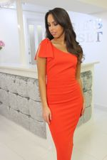 Lizzie Dress Orange