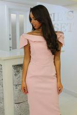 Tara Dress Blush Pink