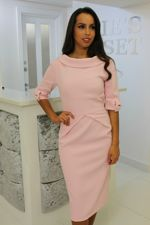 Jackie Dress Blush Pink