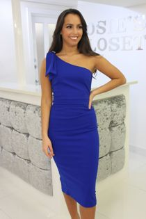 Lizzie Dress Blue