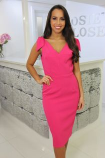 Hot Pink Eabha Dress