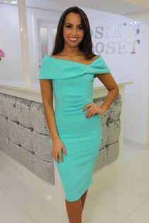 Bardot Midi Dress Mint
