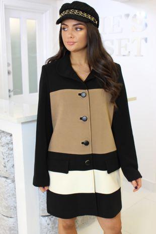 Black and Brown Coat