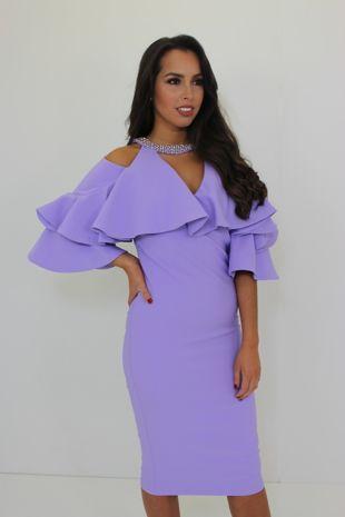 Kourtney Dress Lilac