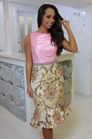 Cara Dress Pink
