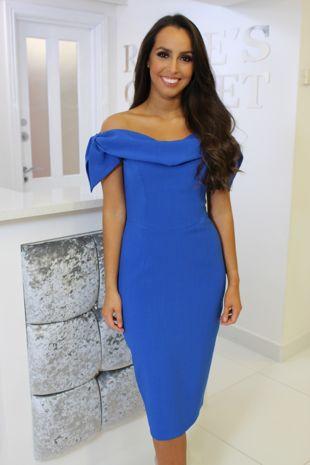 Tara Dress Cobalt Blue