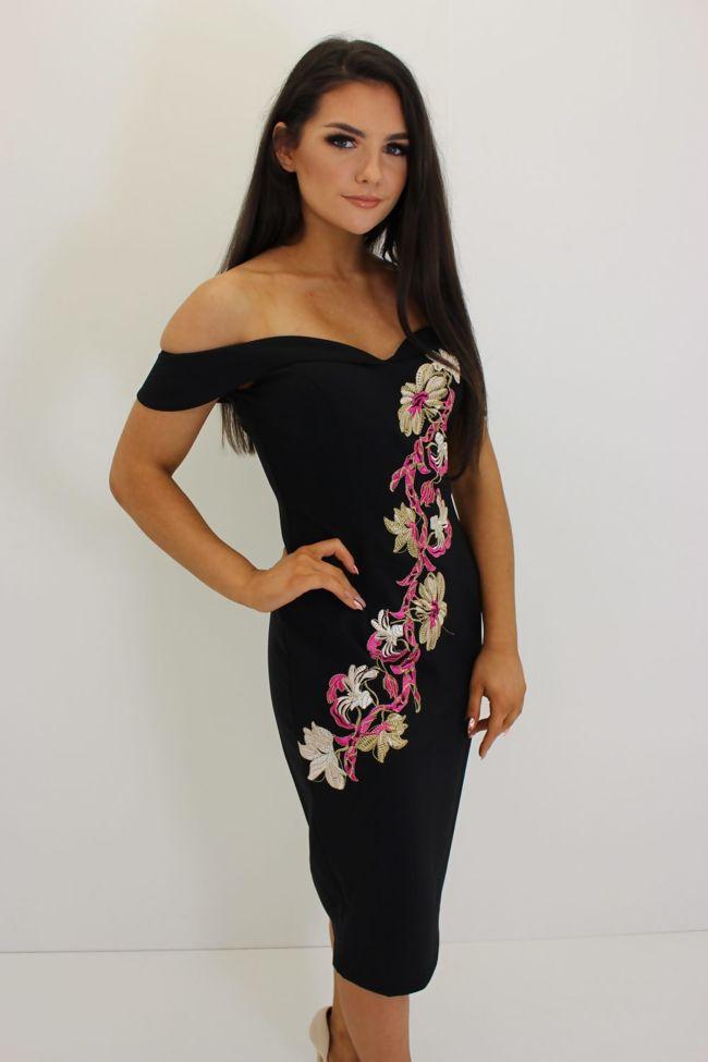 Oxyegn Dress Pink Floral-Copy