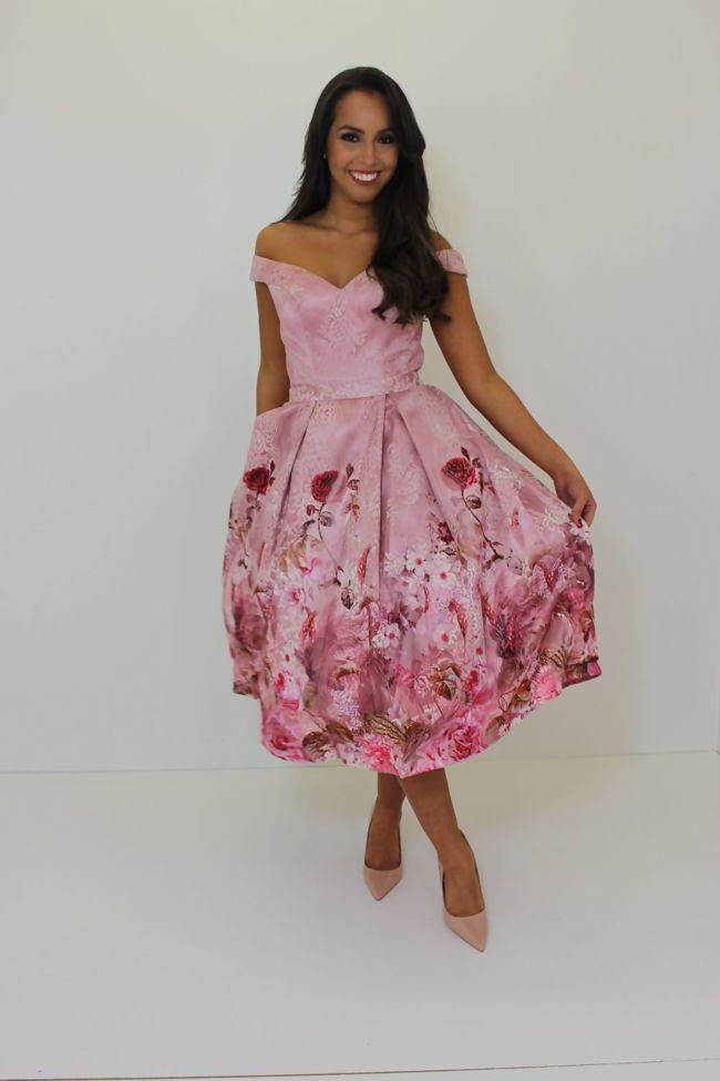 Leah Dress Pink