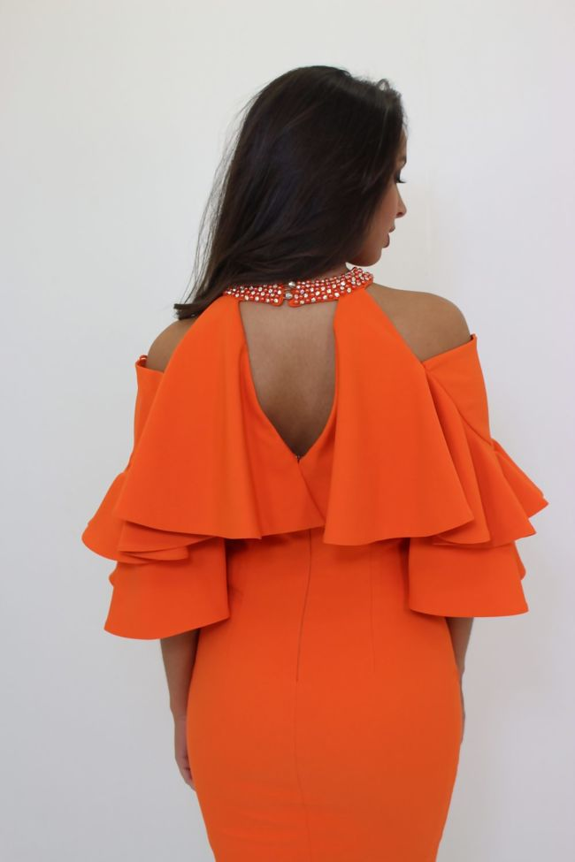 Kourtney Dress Orange