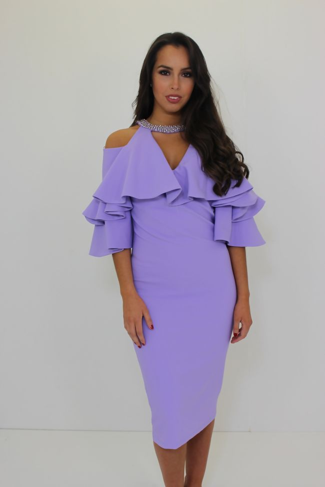 Kourtney Dress Lilac