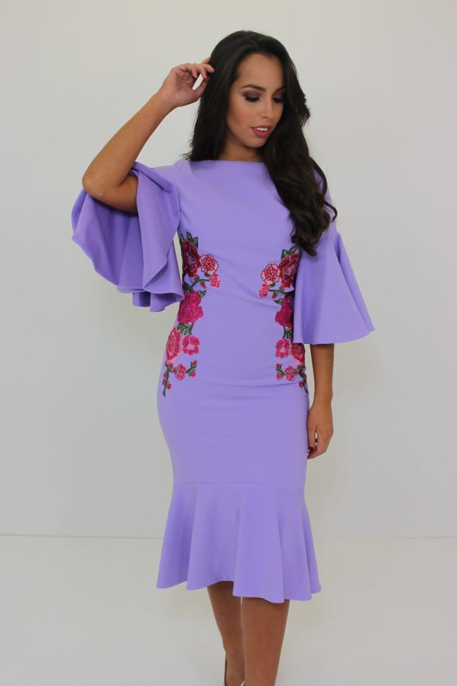 Sydney Dress Lilac