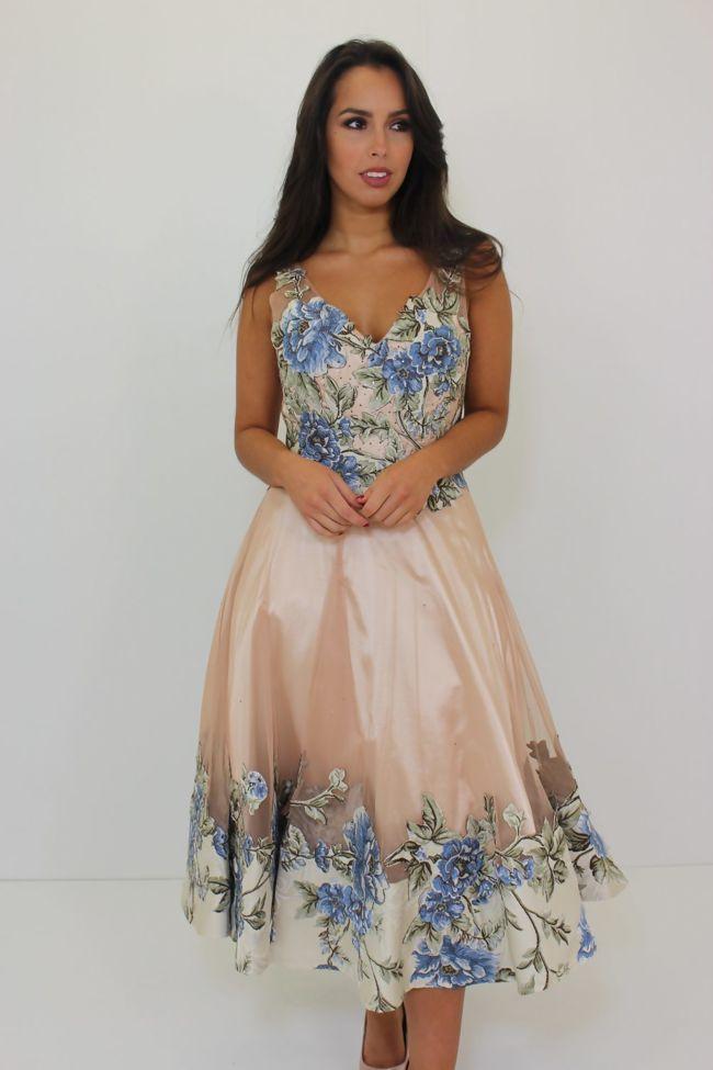 Kirsty Floral Skater Dress