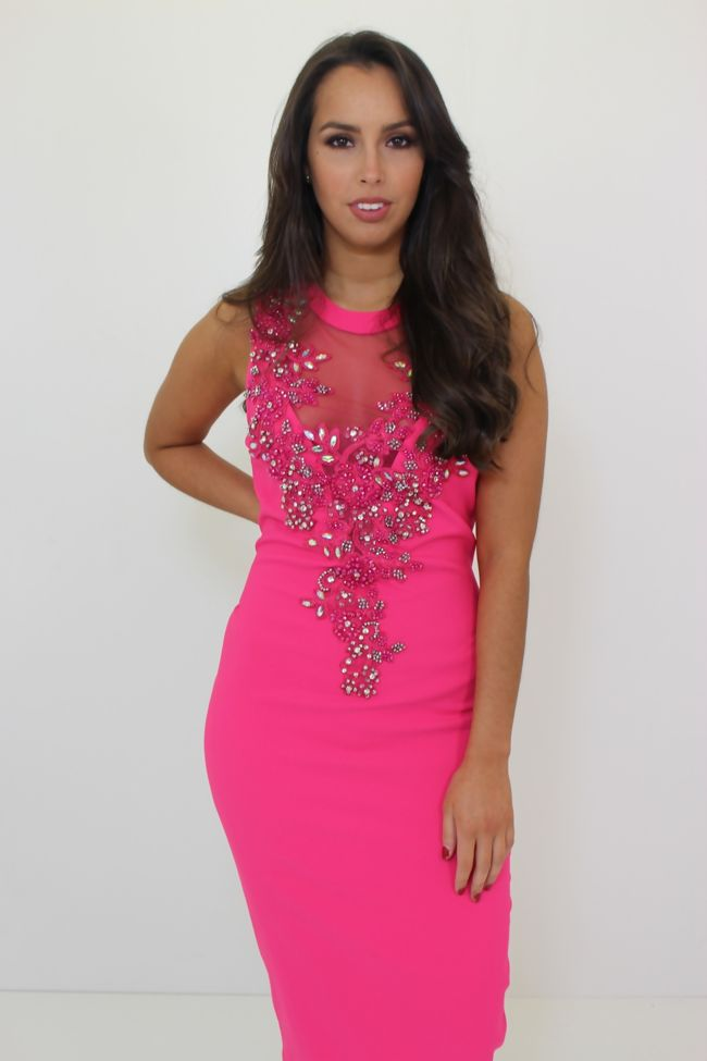 Crystal Dress Pink