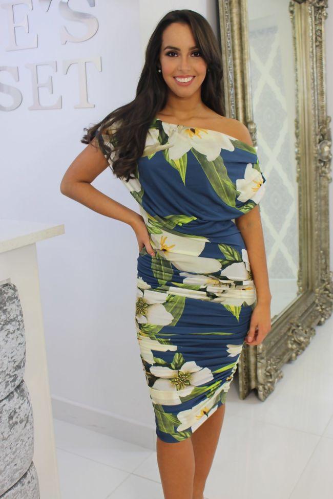 b971888479 Oxyegn Dress Ivory Floral
