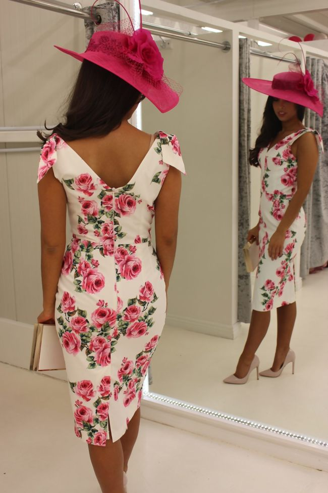 Eabha Dress Rose Floral