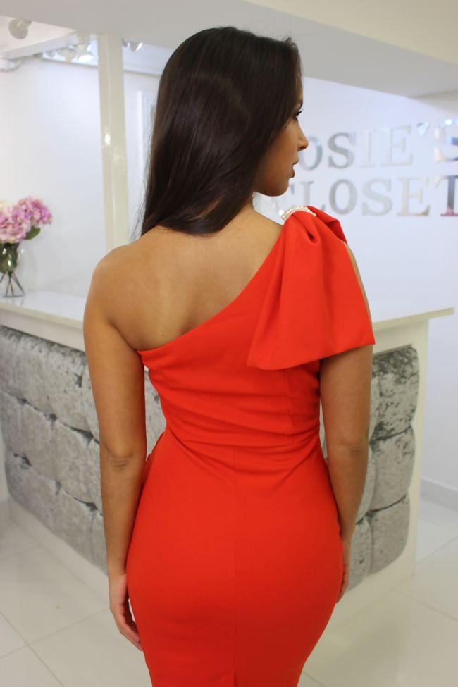 Lizzie Dress Orange