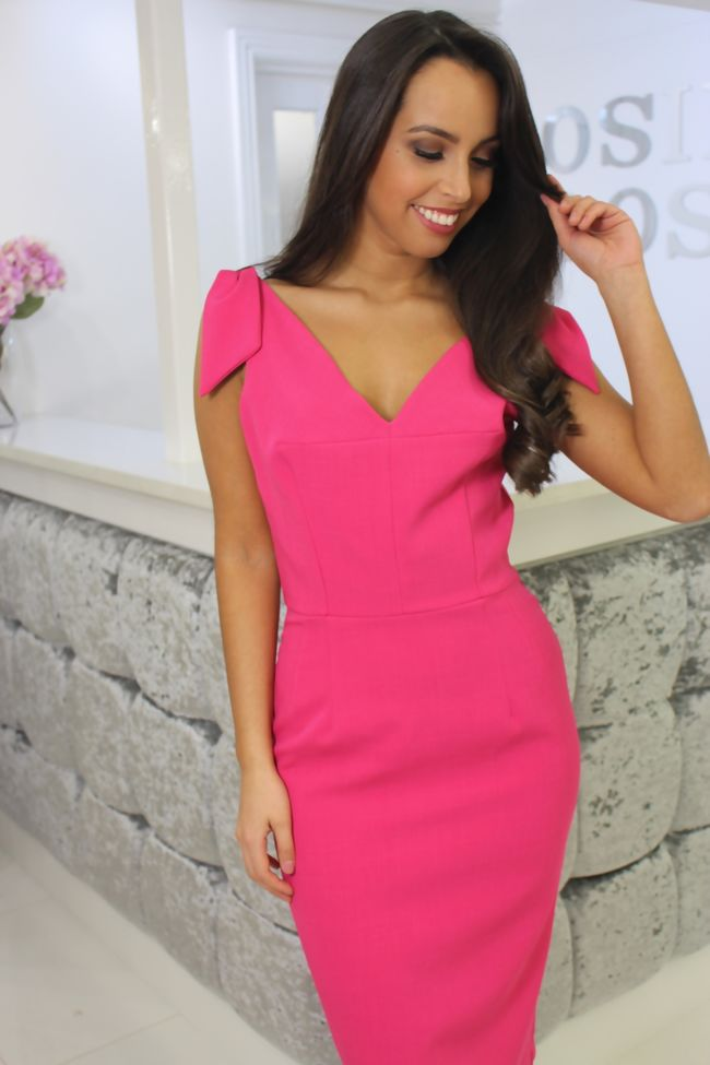Hot Pink Eabha Dress