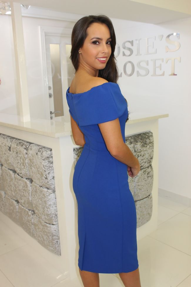 Megan Dress Cobalt Blue