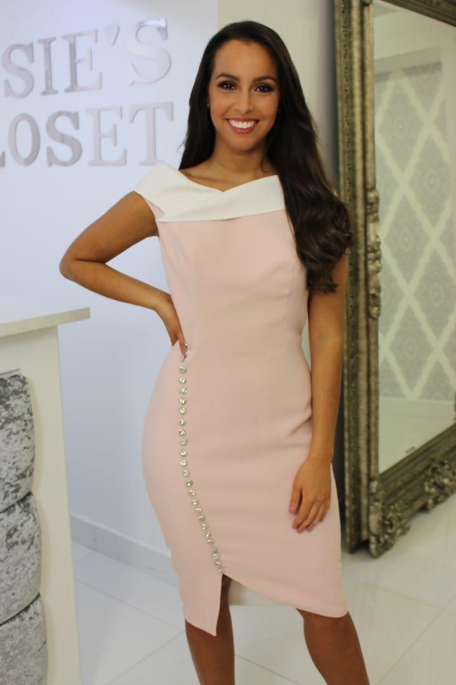 Blush Midi Dress